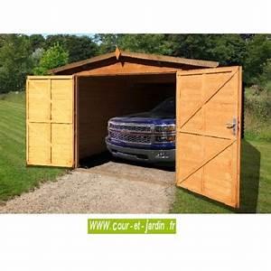 Garage Voiture En Bois : garage en bois voiture garages bois en kit abris madriers a prix pas cher ~ Dallasstarsshop.com Idées de Décoration