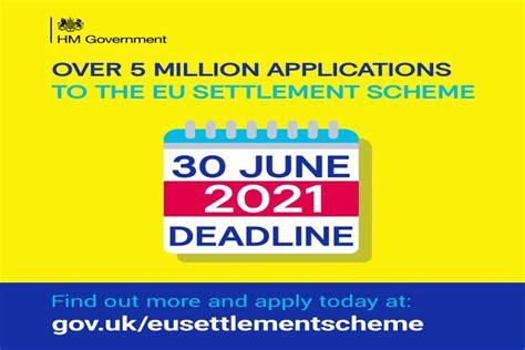 Landmark EU Settlement Scheme reaches five million ...
