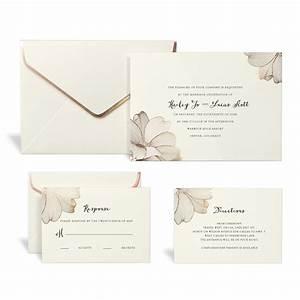 gartner studios formal gold foil swirl invi on wilton With how to print gartner wedding invitations