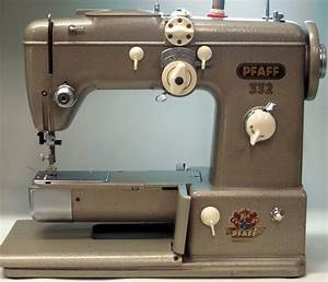 Mi Vintage Sewing Machines  Pfaff 332