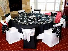 Table Decorations Black And White Theme Are So Many Variations For A Black White Wedding Theme The Theme