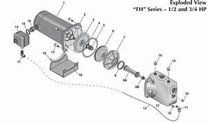 Berkeley Fh Series Shallow Well Jet Pump Repair Parts