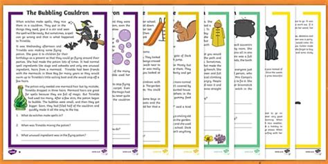 preview  halloween differentiated reading comprehension