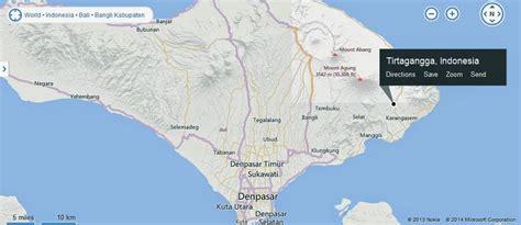 tirta gangga royal palace bali indonesia location map