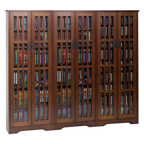 leslie dame large multimedia cabinet walnut m 1431w