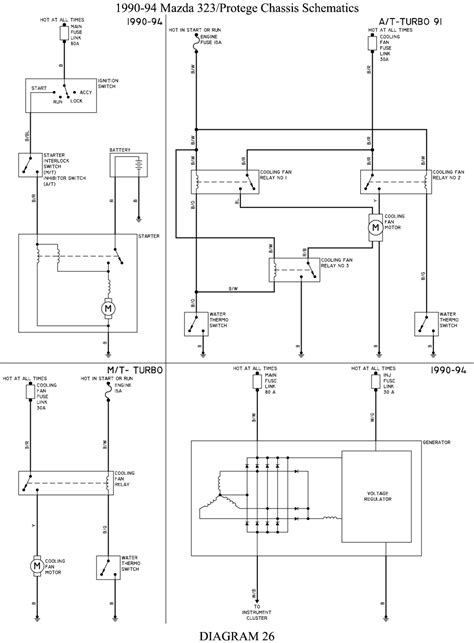1997 Mazda Protege Radio Wiring Diagram by 1997 Mazda Protege Wiring Diagram Wiring Diagram