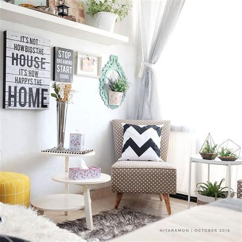 hias ruang tamu kecil desainrumahidcom