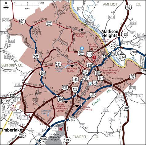 lynchburg virginia offender map is lynchburg virginia map bnhspine com
