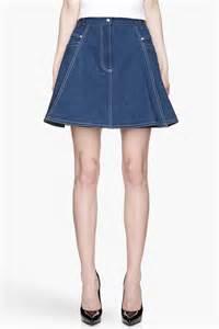 brainy mademoiselle denim skirt