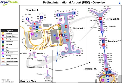 Newark Airport Terminals Diagrams