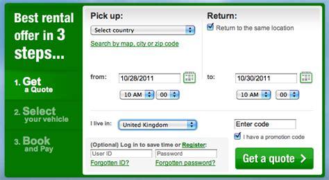 Europcar Promo Codes, New Online
