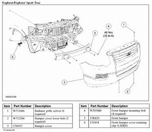 I Need Complete Detailed Front Body Diagram For Ford