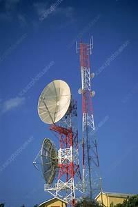 Parabolic Reflector Antenna - Stock Image C003/3681 ...