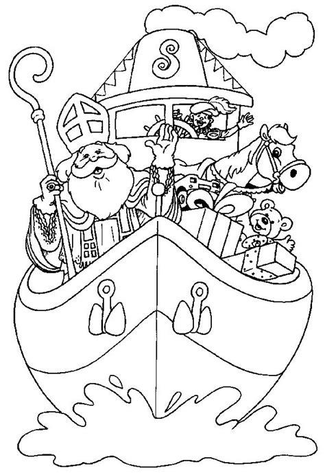 Kleurplaat Kasteel Sinterklaas by Sinterklaas Kleurplaten