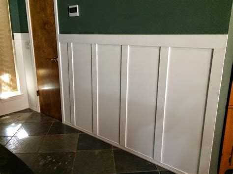 How To Cut Wainscoting by Diy Board And Batten Wainscoting Wilker Do S