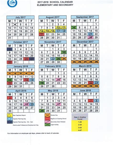 2018 2019 school year calendar template dcps 2018 2019 school year calendar printable for free of cost