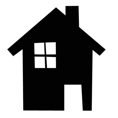 House Silhouette Image  Download At Vectorportal