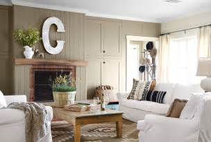 Country Livingrooms Recent Styling Work Ranch Bullard