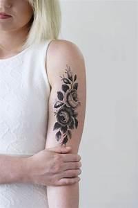 Tatouage Bras Femme Fleur : 1001 id es le tatouage ph m re satisfait ou effac ~ Carolinahurricanesstore.com Idées de Décoration