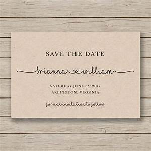 Save the date printable template editable by you in word for Diy save the date cards templates