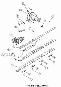 Bunton  Bobcat  Ryan 3010 30 U0026quot  Single Edged Parts Diagram