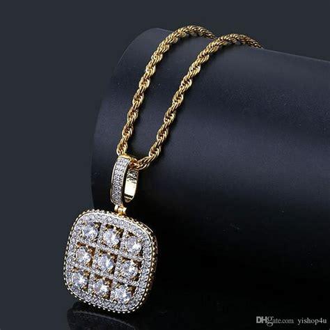 wholesale mens diamonds sudoku bling pendant cubic