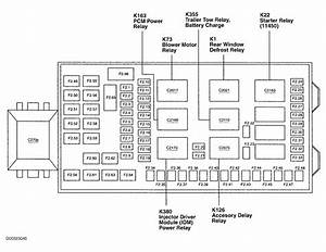2011 Ford F350 Diesel Fuse Panel Diagram