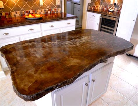 wood look countertops 14 concrete countertops that prove this material suits any