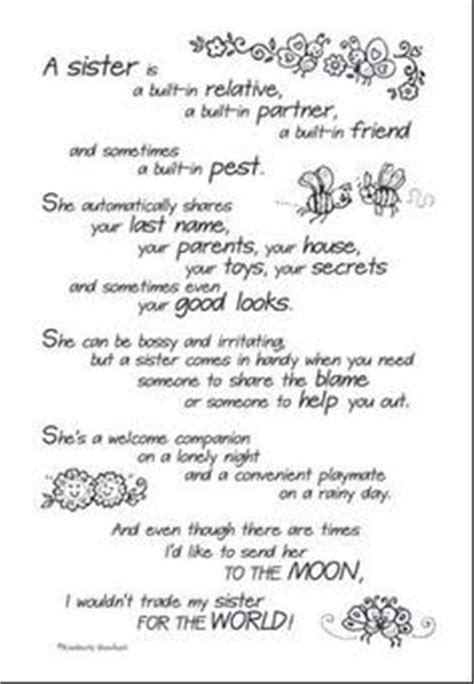 birthday verse  sister google search