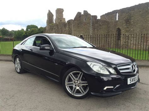 2010 Mercedes-benz E350 Cdi Auto Sport Amg Coupe *full