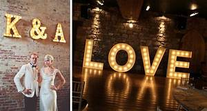 Vintage marquee letters a bright idea kavita mohan for Marquee letters wedding