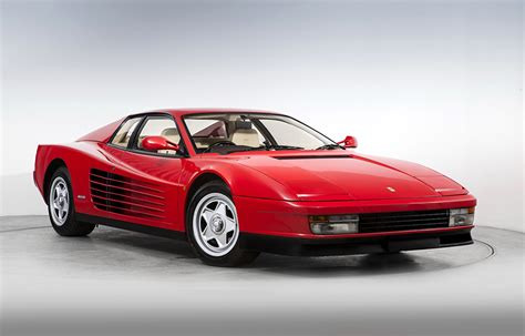 Find your perfect car on classiccarsforsale.co.uk, the uk's best marketplace for buyers and traders. Images Ferrari Pininfarina 1987-91 Testarossa Red vintage Cars