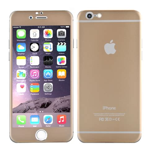 iphone 6 front iphone 6 4 7 inch protective cover gold eyeshere