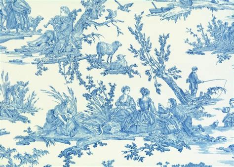 The Emblematic French 'toile De Jouy' Fabric