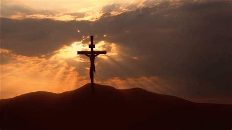holy cross  dark black  yellow sky hd cross