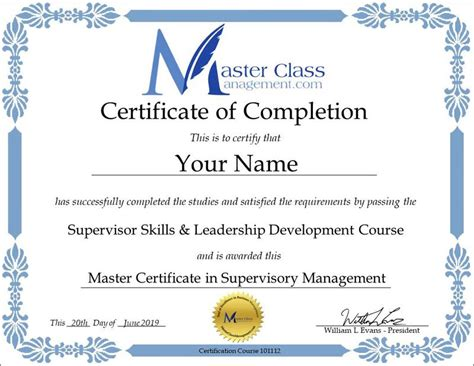 free advertising courses with certificates business management certification course certificate of