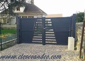 Portail Alu 4m : portails portillons clotures closeo ~ Voncanada.com Idées de Décoration