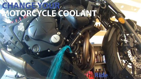 How To Flush Your Motorcycle Coolant