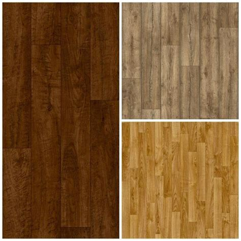 Wood Laminate Effect Vinyl Flooring. Brand New. Cheap Lino