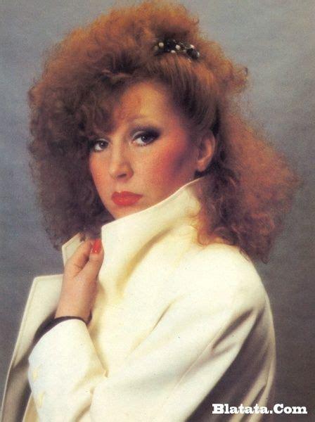 80s Banana Clip Hairstyles by Alla Pugacheva Russian Singer 1980 S Hair Banana Clip