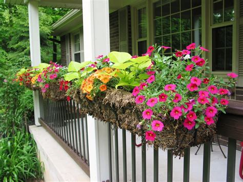 Banister Planters by Niesz Vintage Home And Fabric Porch Railing Planter Boxes