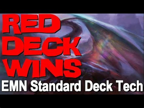 Mtg Deck Tech Red Deck Wins (mono Red Dragons) In