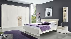 Schlafzimmer Weiß Grau : loddenkemper meo schlafzimmer hochglanz m bel letz ihr online shop ~ Frokenaadalensverden.com Haus und Dekorationen