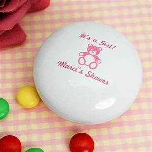 Personalized Baby Shower M&M Tin