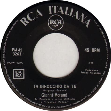 Morandi Testi by Gianni Morandi Discografia Cover Testi