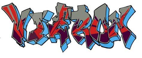 Graffitis De Nombres Victor
