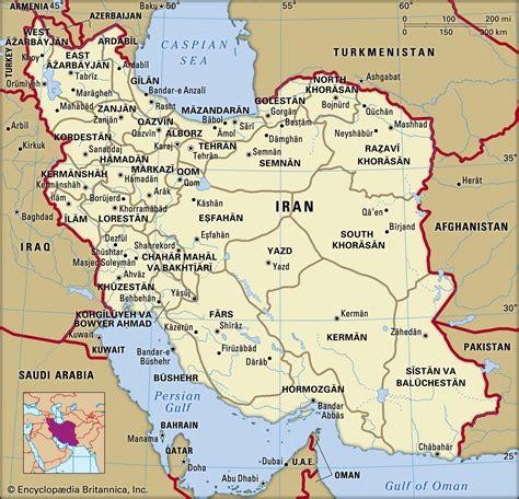 Iran Maps Geography
