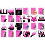 Pink Icons Emotion Deviantart