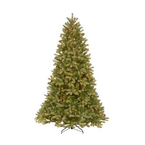 7 5 ft christmas tree with 1000 lights 7 5 ft feel real downswept douglas fir artificial