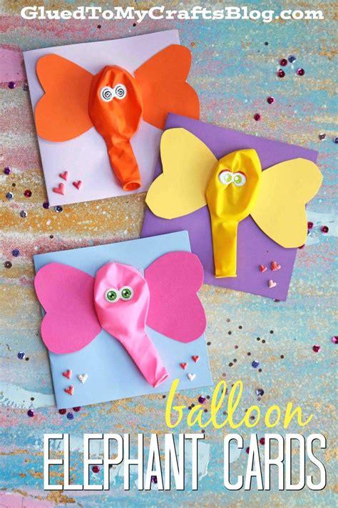 balloon elephant card kid craft family activities 673   2a515ffb320878d85022cf9914d4d0e6
